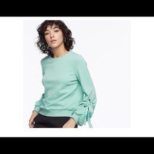 k/lab grommet sweatshirt Sz S NWT